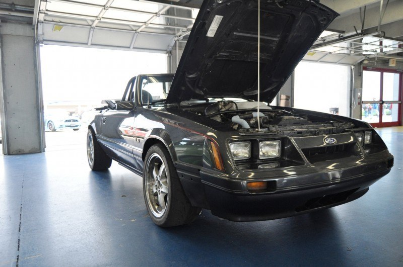 Mustang 50th Anniverary Showcase - $150,000 Race-Prepped 1986 Mustang GT Convertible 1