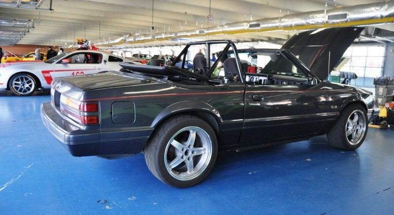 Mustang 50th Anniverary Showcase - $150,000 Race-Prepped 1986 Mustang GT Convertible 10