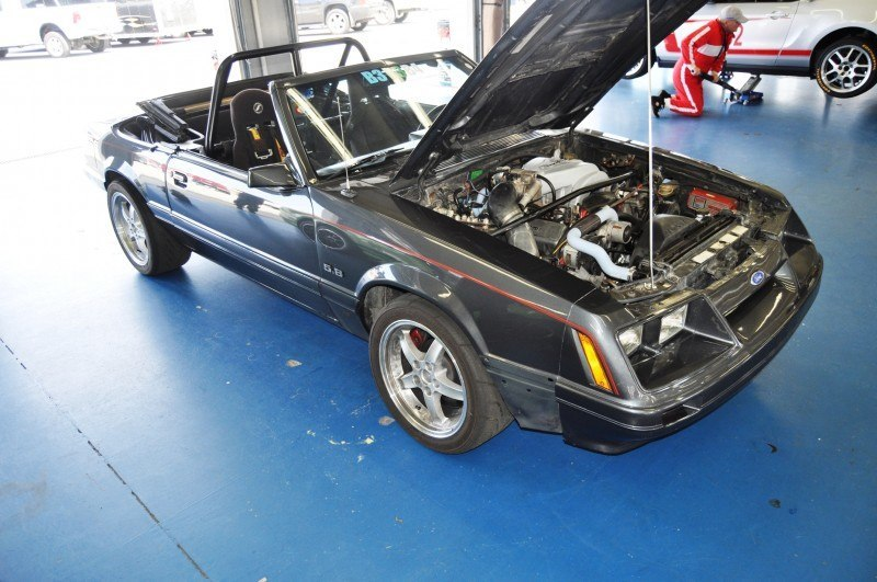 Mustang 50th Anniverary Showcase - $150,000 Race-Prepped 1986 Mustang GT Convertible 13