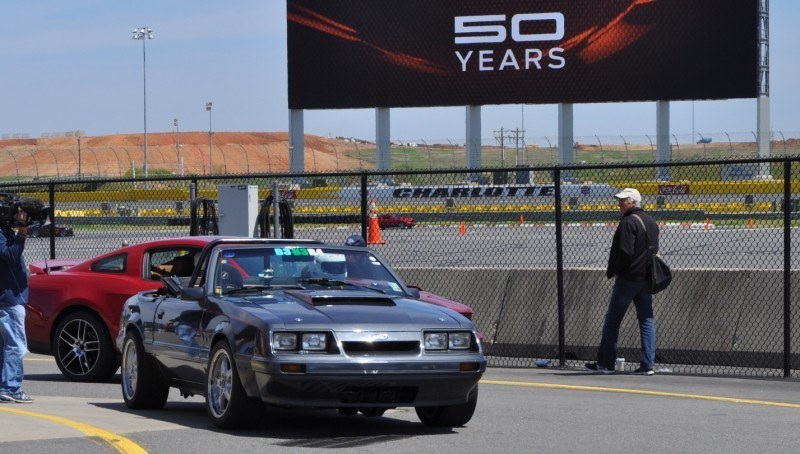 Mustang 50th Anniverary Showcase - $150,000 Race-Prepped 1986 Mustang GT Convertible 15