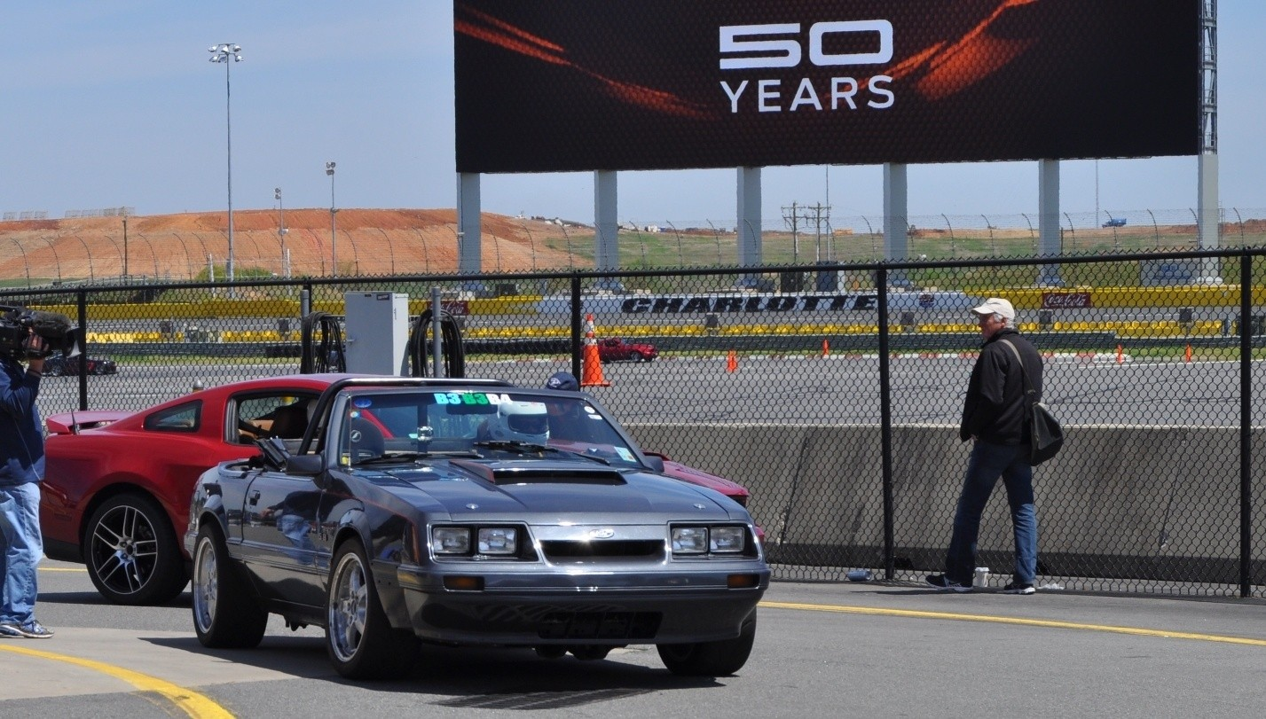 Race Prepped 1986 Mustang Gt Convertible Ford 5 0 50th Anniverary Showcase 150000 15