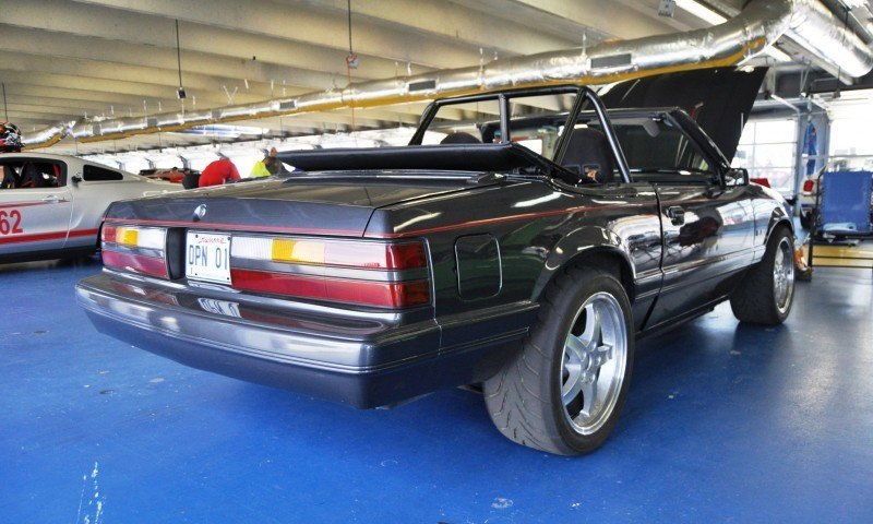 Mustang 50th Anniverary Showcase - $150,000 Race-Prepped 1986 Mustang GT Convertible 9