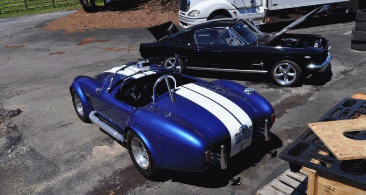 Mustang 66 GT350 header