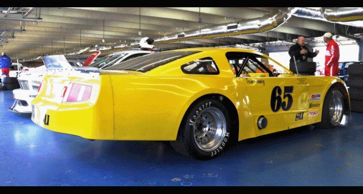 Mustang NASCAR gif