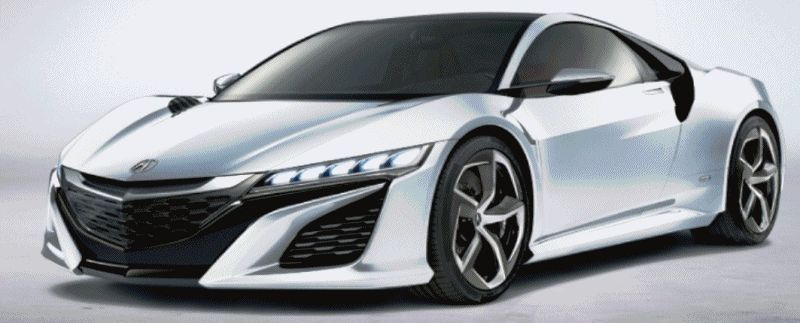 NSX Colors Nose Animation GIF FAST