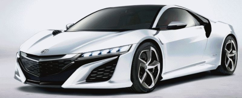 NSX Colors Nose Animation GIF