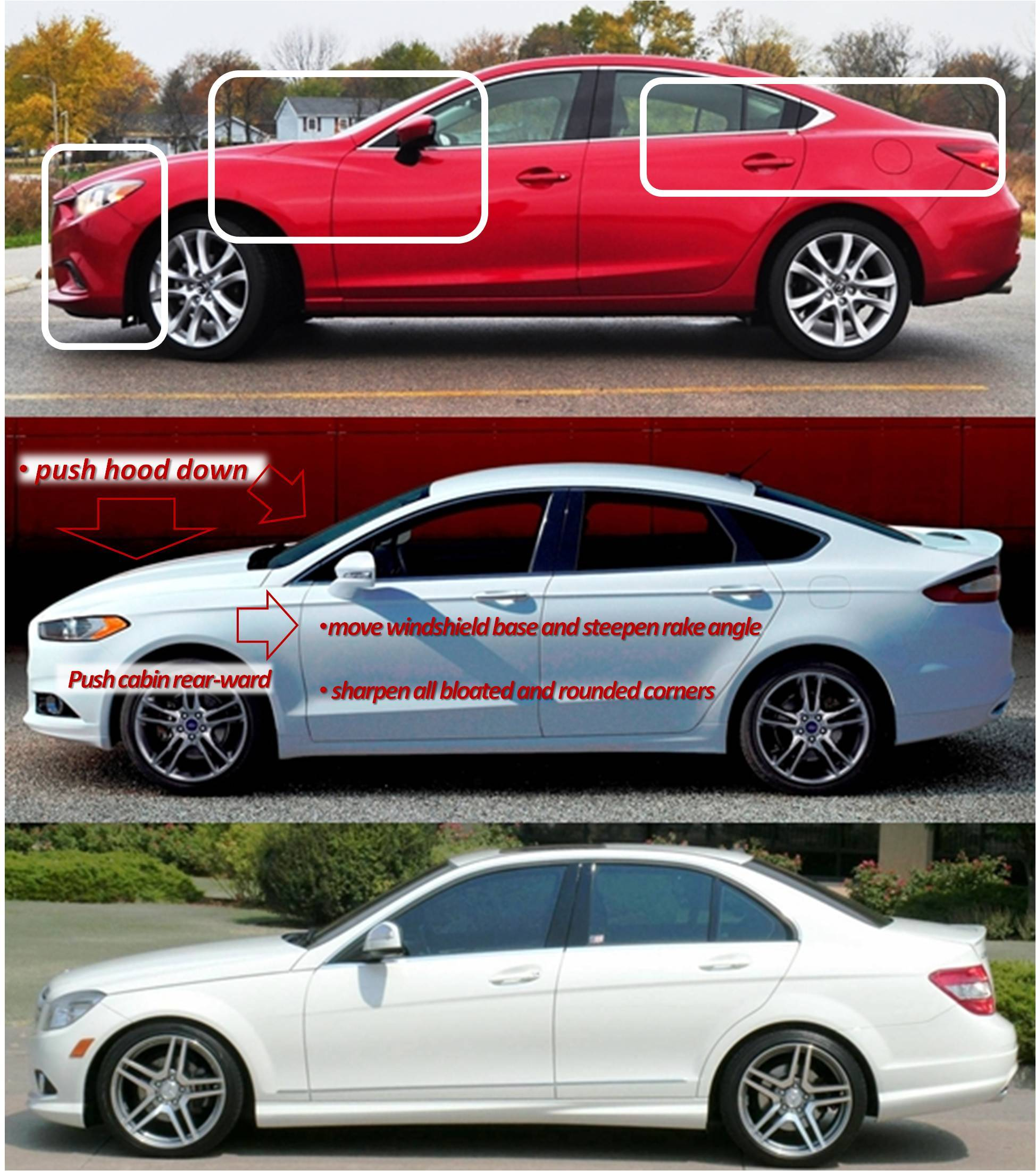 2016 Ford Fusion Mazda6 vs ford fusion