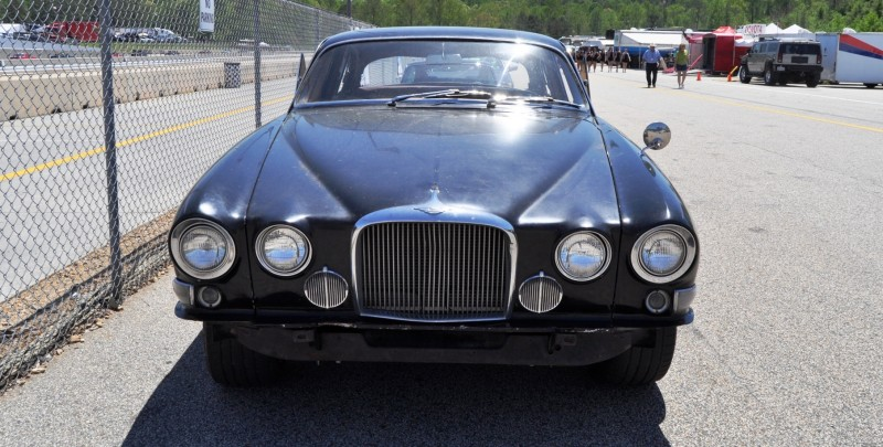 Road Atlanta - Mitty 2014 Pit Lane - ~1965 JAGUAR Mark 10 and E-Type Coupe Side-by-Side 19