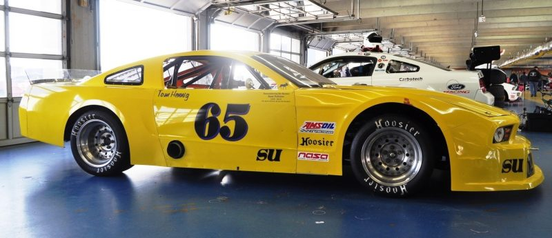 SHOCK! Charlotte Motor Speedway's Banned NASCAR Mustang Prototype - Actually Looks Like a Mustang 10