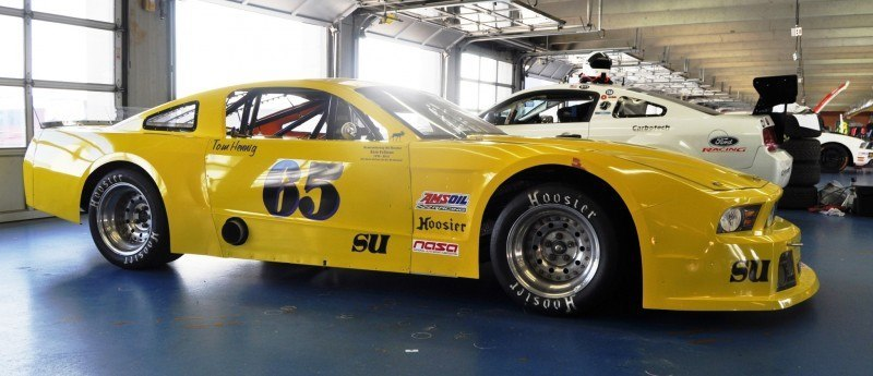 SHOCK! Charlotte Motor Speedway's Banned NASCAR Mustang Prototype - Actually Looks Like a Mustang 11