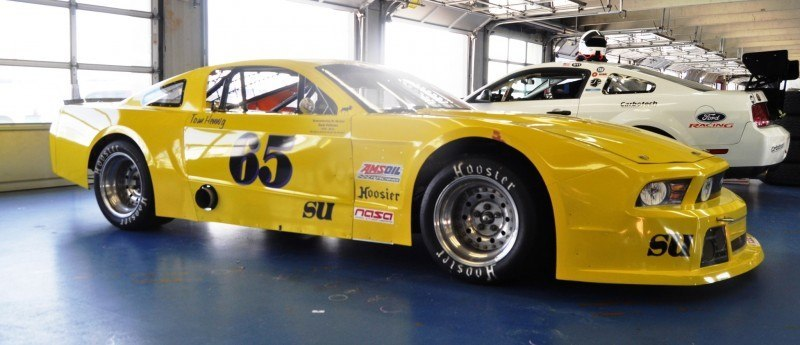 SHOCK! Charlotte Motor Speedway's Banned NASCAR Mustang Prototype - Actually Looks Like a Mustang 12