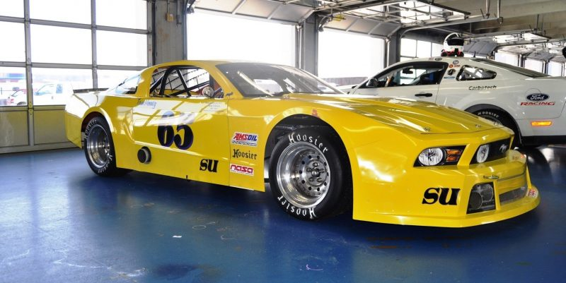 SHOCK! Charlotte Motor Speedway's Banned NASCAR Mustang Prototype - Actually Looks Like a Mustang 13