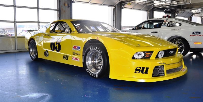 SHOCK! Charlotte Motor Speedway's Banned NASCAR Mustang Prototype - Actually Looks Like a Mustang 14