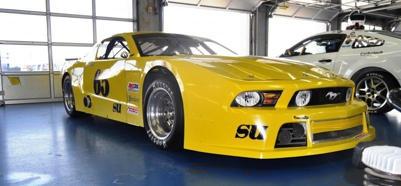 SHOCK! Charlotte Motor Speedway's Banned NASCAR Mustang Prototype - Actually Looks Like a Mustang 15