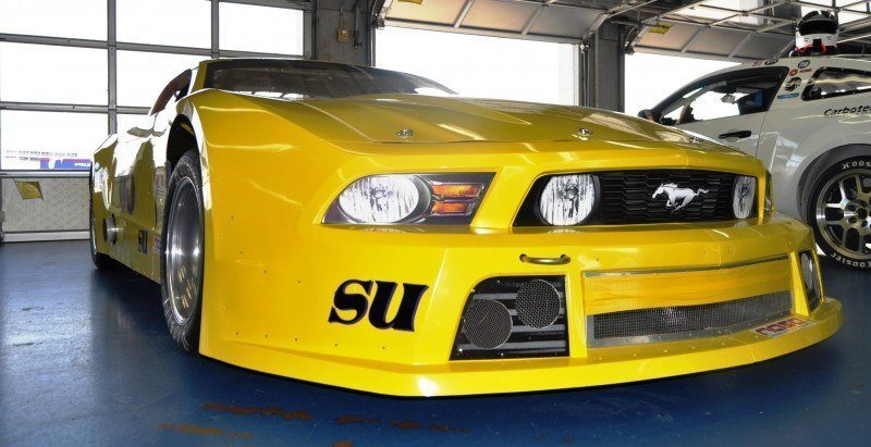 SHOCK! Charlotte Motor Speedway's Banned NASCAR Mustang Prototype - Actually Looks Like a Mustang 16