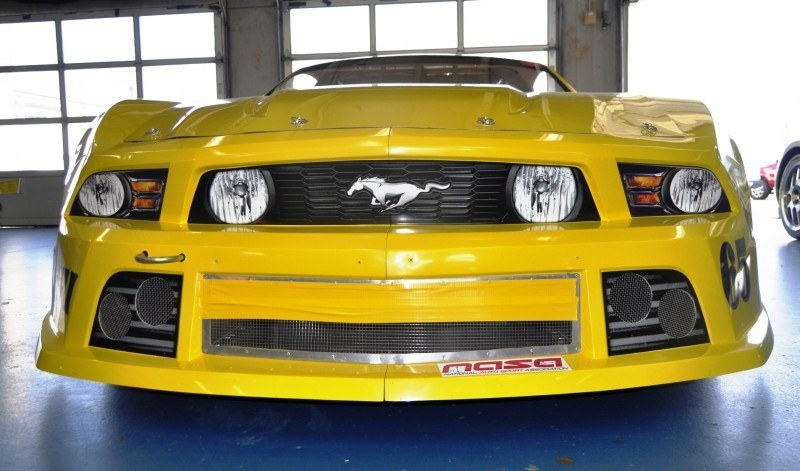 SHOCK! Charlotte Motor Speedway's Banned NASCAR Mustang Prototype - Actually Looks Like a Mustang 18
