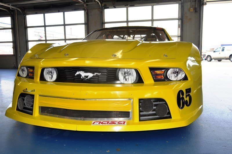 SHOCK! Charlotte Motor Speedway's Banned NASCAR Mustang Prototype - Actually Looks Like a Mustang 19