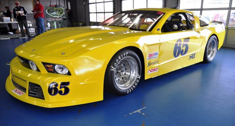 SHOCK! Charlotte Motor Speedway's Banned NASCAR Mustang Prototype - Actually Looks Like a Mustang 22