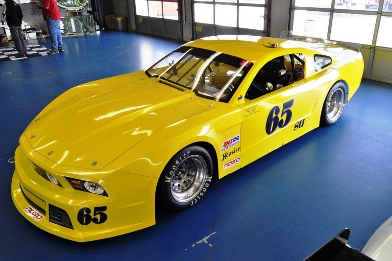 SHOCK! Charlotte Motor Speedway's Banned NASCAR Mustang Prototype - Actually Looks Like a Mustang 23
