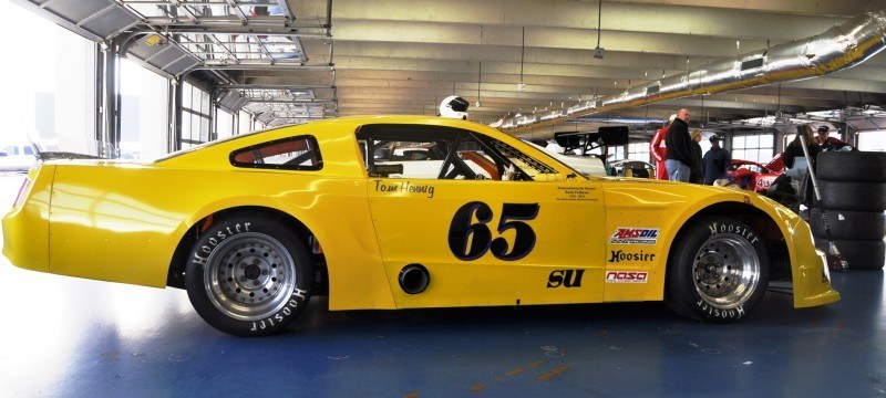 SHOCK! Charlotte Motor Speedway's Banned NASCAR Mustang Prototype - Actually Looks Like a Mustang 6