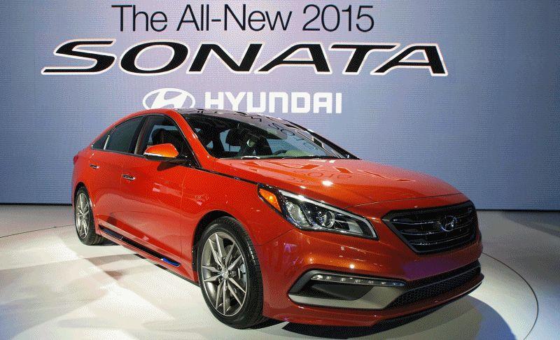 2015 Hyundai Sonata Goes Huge - Forget Camry and Accord, This Sonata Is Benchmarking Buicks
