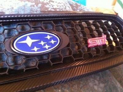 Suburu Legacy GT - DIT carbonfiber grille UK 04 STi_7176312786_l