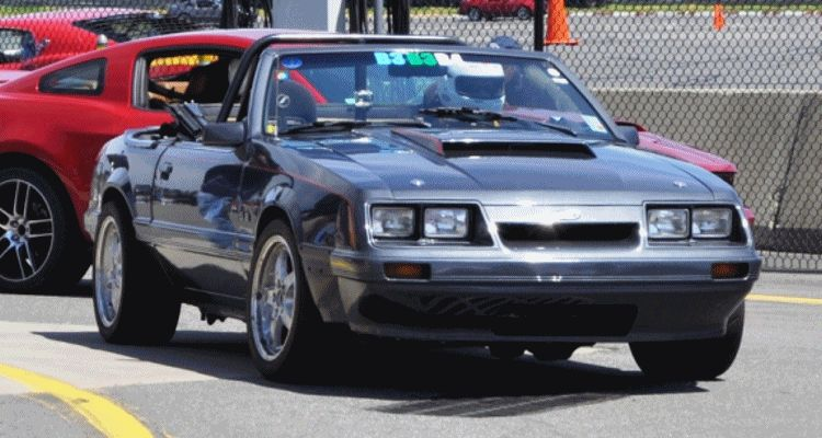 The Ford Mustang 86 GIF header