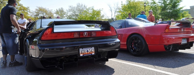 The NSX Effect -- Own One, And You Will Never Sell It -- Black NSX Series I and Red NSX-R Series II 14