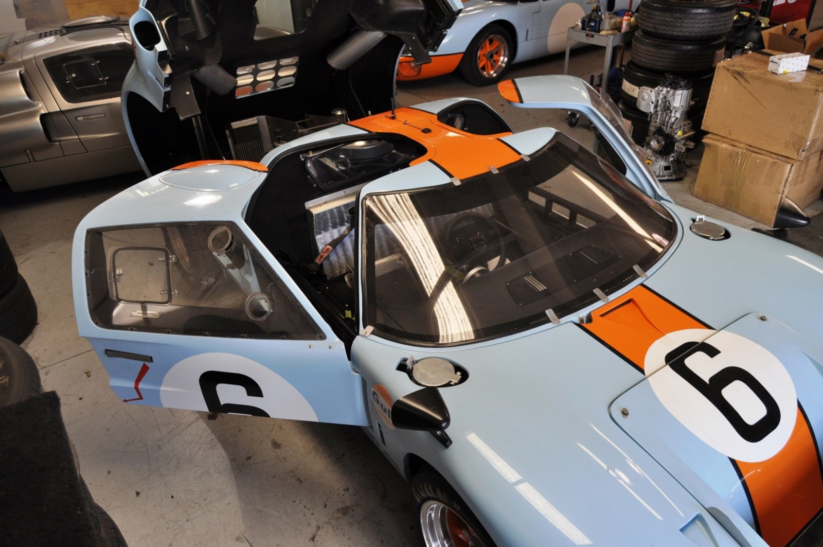 Touring the Olthoff Racing Dream Factory - Superformance GT40s and Cobras Galore 15