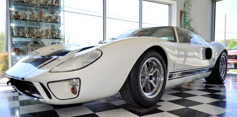 Touring the Olthoff Racing Dream Factory - Superformance GT40s and Cobras Galore 42