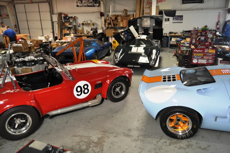 Touring the Olthoff Racing Dream Factory - Superformance GT40s and Cobras Galore 6