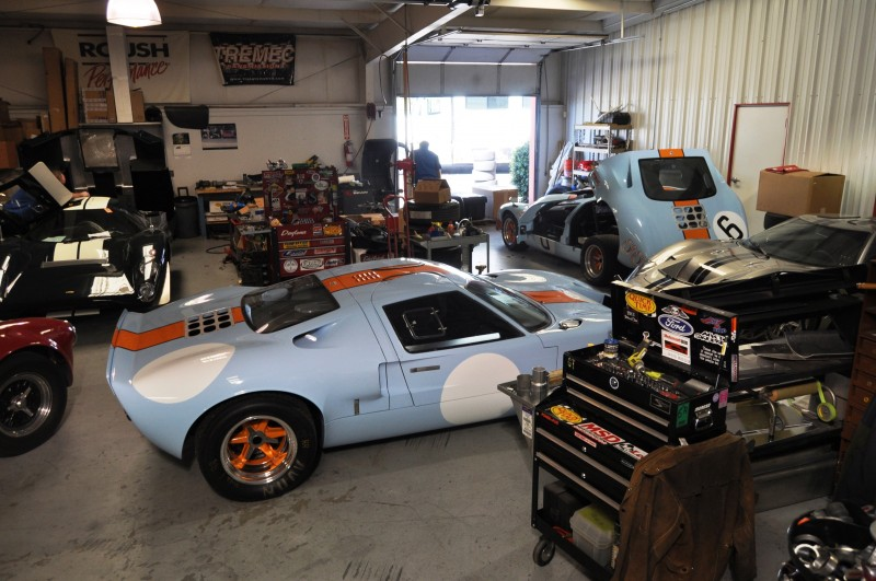 Touring the Olthoff Racing Dream Factory - Superformance GT40s and Cobras Galore 7