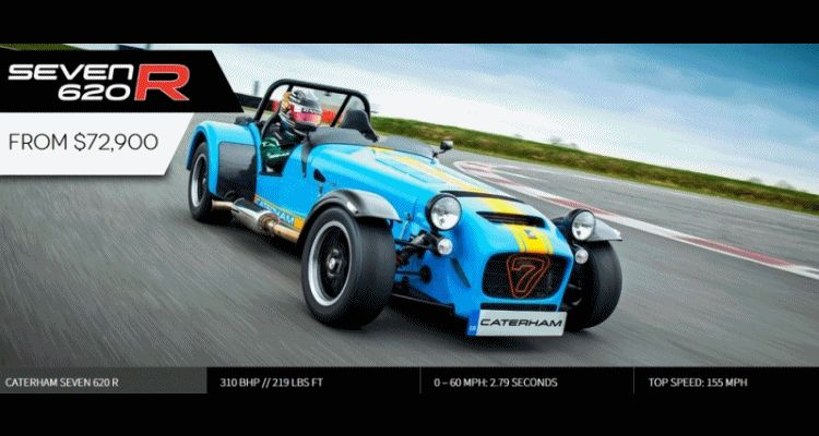 USA CATERHAM SEVEN