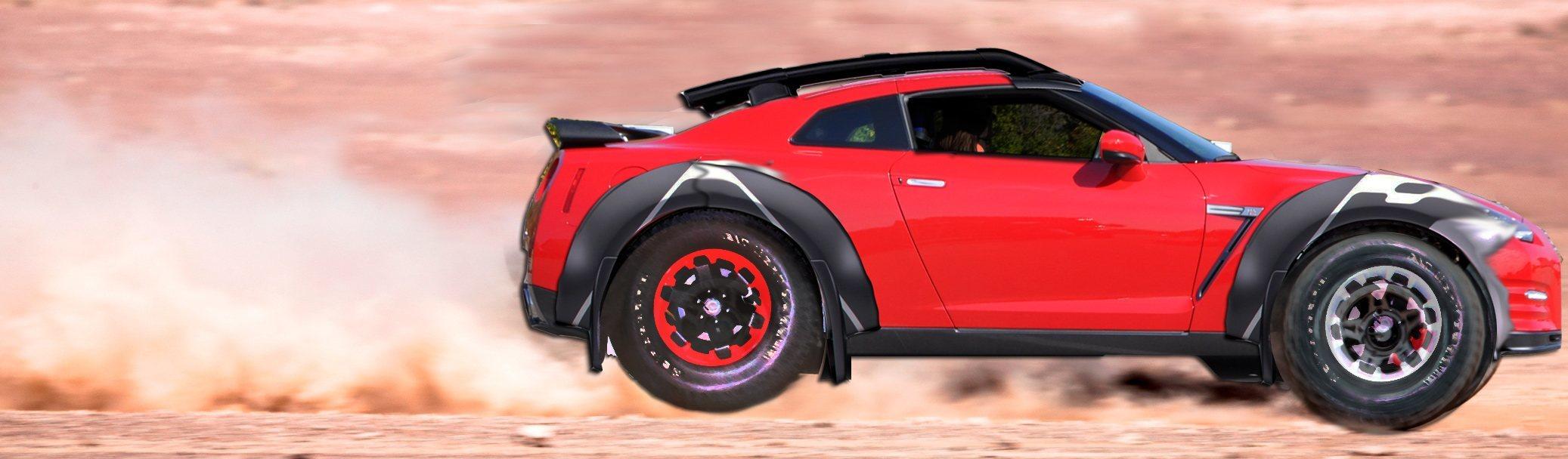 Nissan Gt R Dakar Rally Prototype Most Absurd
