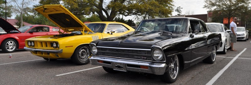 VIDEOS - Charleston Cars & Coffee - 1967 Chevy Nova, Drag-Prepped Hudson and 2002 Superformance Cobra 2