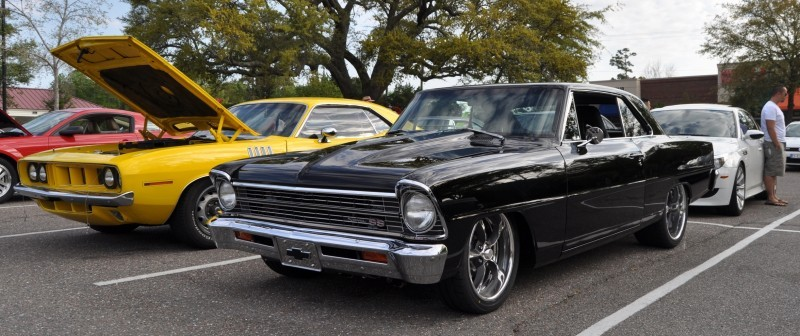 VIDEOS - Charleston Cars & Coffee - 1967 Chevy Nova, Drag-Prepped Hudson and 2002 Superformance Cobra 3