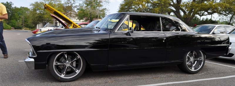 VIDEOS - Charleston Cars & Coffee - 1967 Chevy Nova, Drag-Prepped Hudson and 2002 Superformance Cobra 7