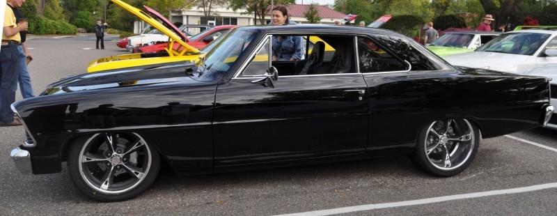 VIDEOS - Charleston Cars & Coffee - 1967 Chevy Nova, Drag-Prepped Hudson and 2002 Superformance Cobra 8