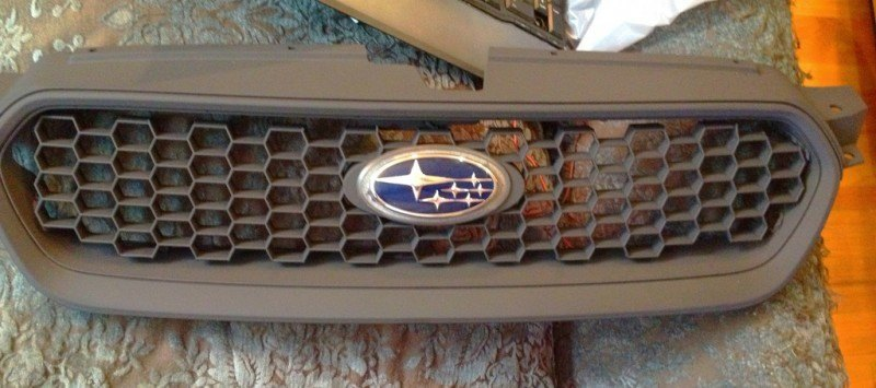 subaru DIY LED badge - indoor testing - emblem comparisons_8072299059_l