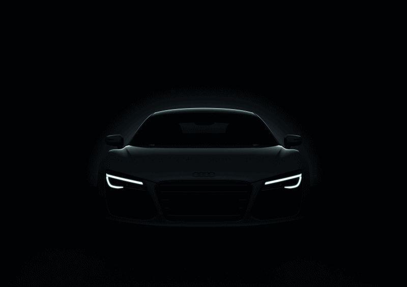 2014 Audi R8 V8 LED Animation