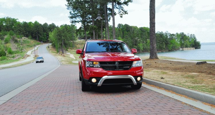 2014 Dodge Journey Crossroad GIF full