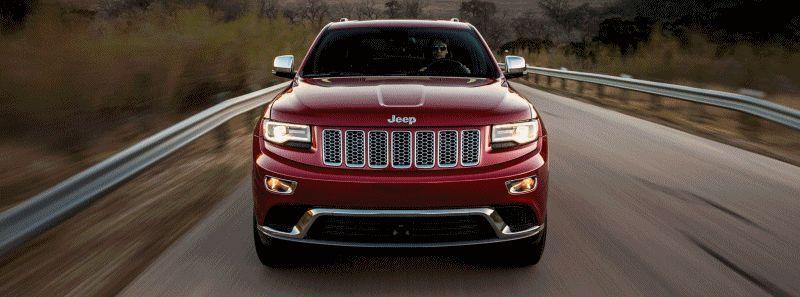 2014 Jeep Grand Cherokee Summit, Overland and Ltd 2 GIF