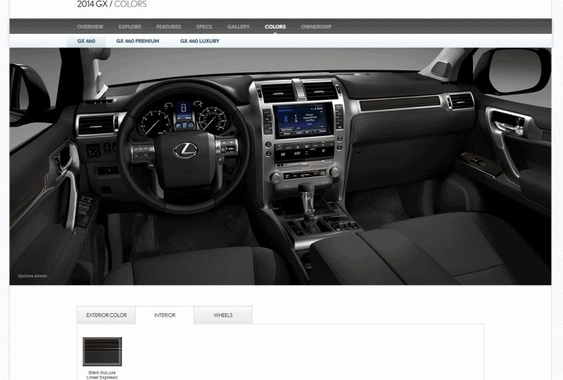 2014 Lexus Gx460 Interior Color Choices Gif