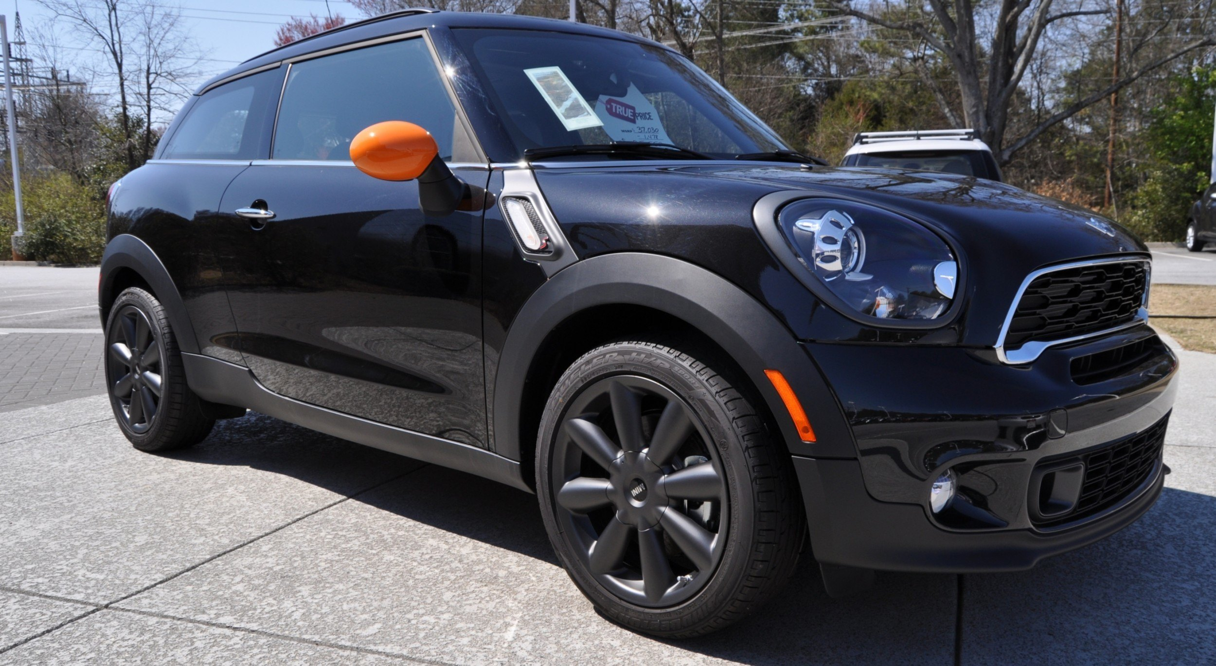 2014 mini paceman cooper s options. Black Bedroom Furniture Sets. Home Design Ideas