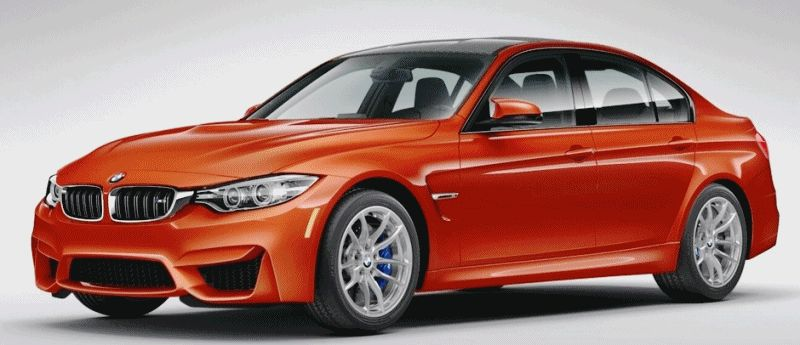 2015 BMW M3 COlors