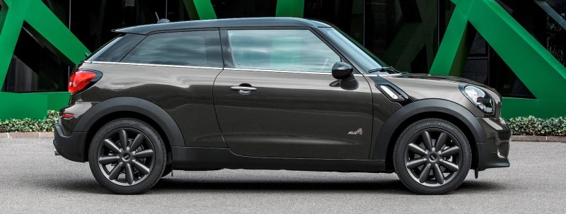 Car-Revs-Daily.com - 2015 MINI PACEMAN LED and Dark Style Updates 10