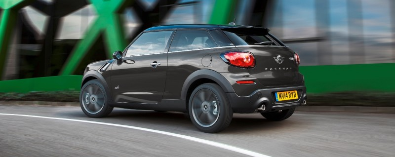 Car-Revs-Daily.com - 2015 MINI PACEMAN LED and Dark Style Updates 12