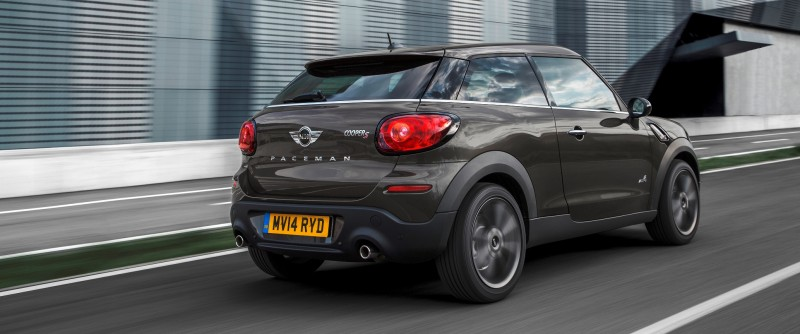 Car-Revs-Daily.com - 2015 MINI PACEMAN LED and Dark Style Updates 17