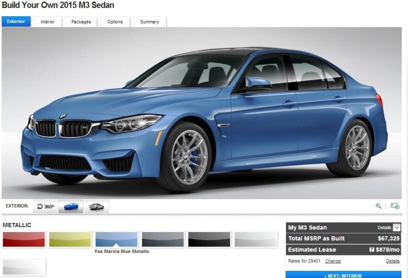 Car-Revs-Daily.com Builds 2015 BMW M3 1