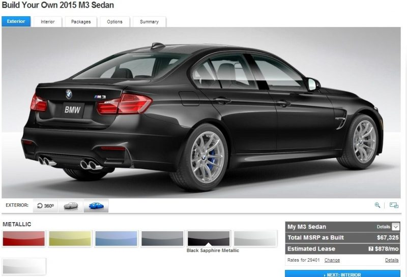 Car-Revs-Daily.com Builds 2015 BMW M3 10